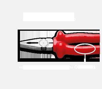 IEC 60900 em conformidade com a NR 10. Número da ordem de fabricação: 540232
