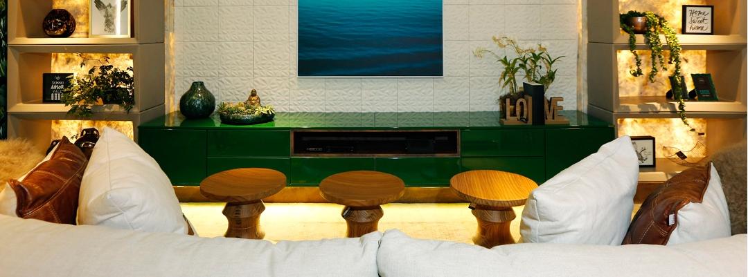 Casa de playa - Salón de convivencia de la familia