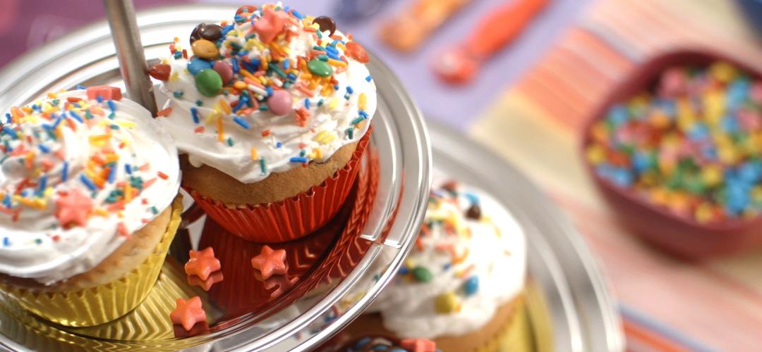 Receita de Cupcakes Divertidos