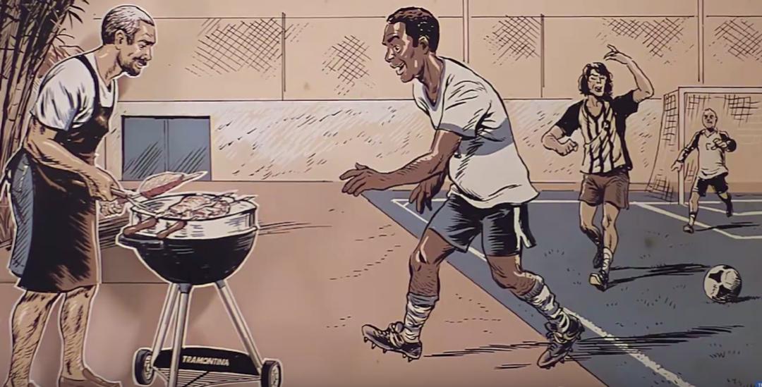Futebol e Churrasco