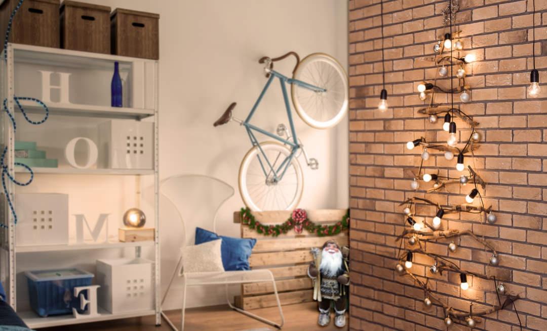 ¿Tienes poco espacio pero quieres un árbol de Navidad?