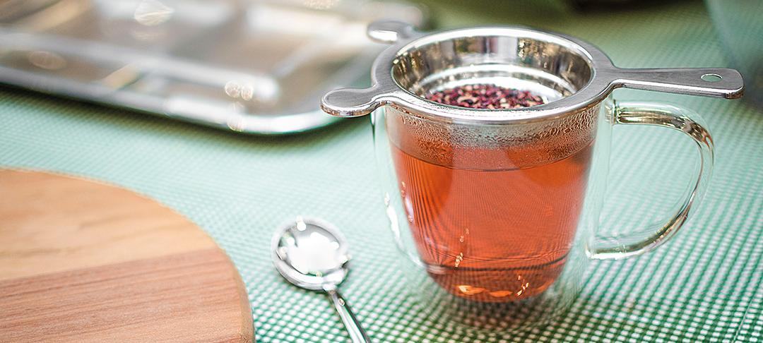 Prepare um chá para relaxar