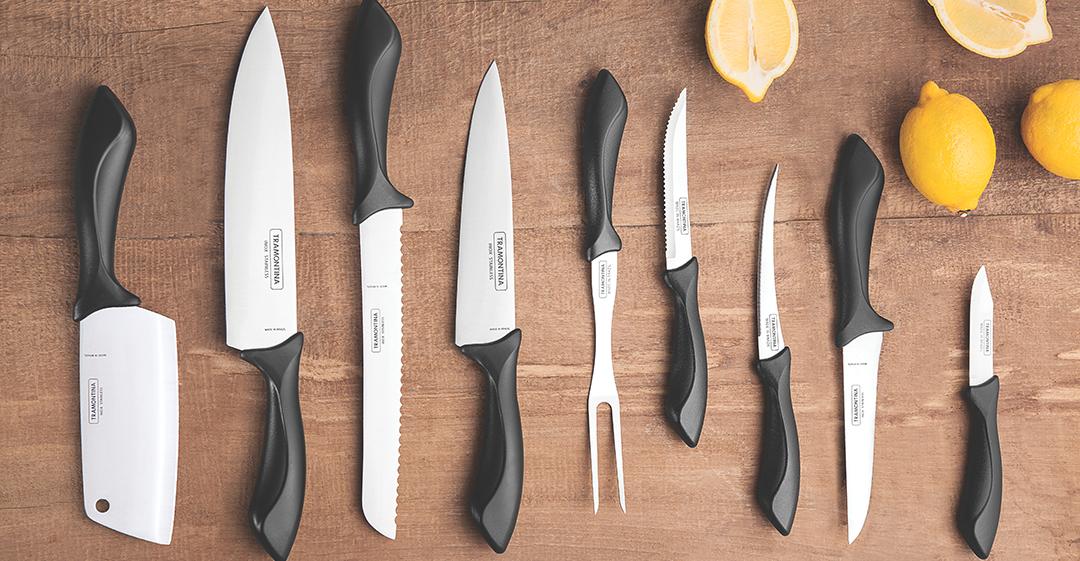 Conheça os diferentes tipos de facas Tramontina