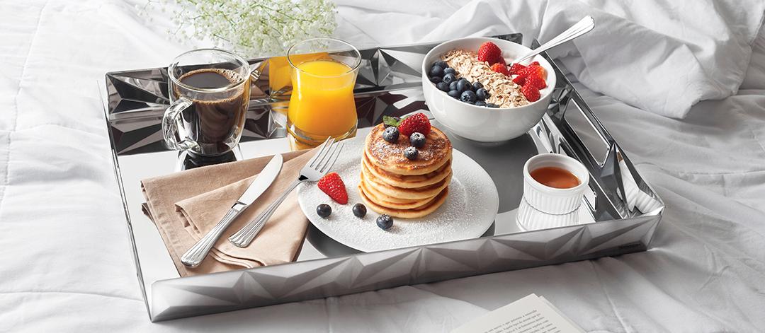 Prepare um café da manhã especial