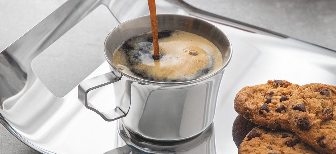 Faça bonito na hora do cafezinho