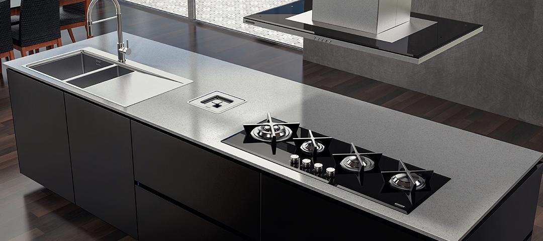 Dicas para uma cozinha minimalista: conheça as coifas, cubas e cooktops da Tramontina