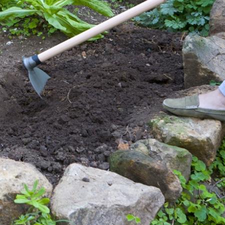Plantando el jardín: canteros