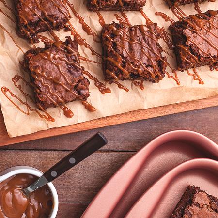 Faça brownie em casa