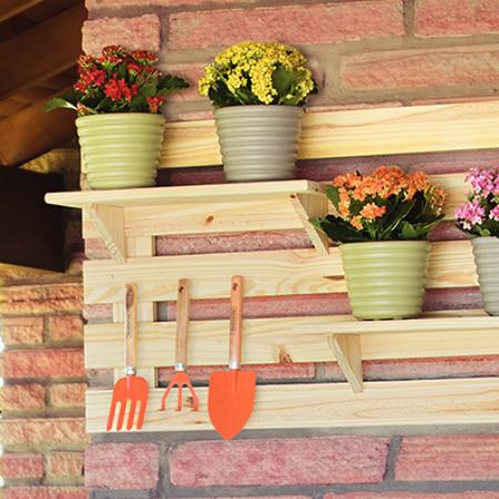 Como montar um jardim vertical em casa