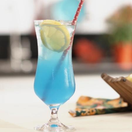 Recipe to make a beautiful drink