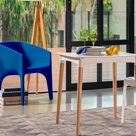 Dicas para a decoração da casa: mesa + cadeiras
