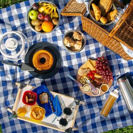 Cómo armar un picnic en el patio