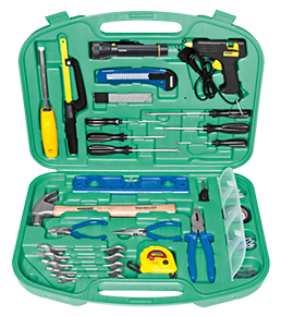 Tramontina tool kit with case 65 pieces
