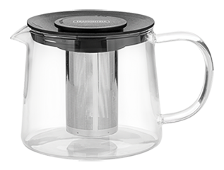 Teapot With Infuser, 900 ml