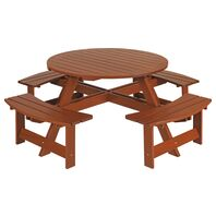 Picnic Table without Back with Jatobá Wood and Eco Blindage - Garden
