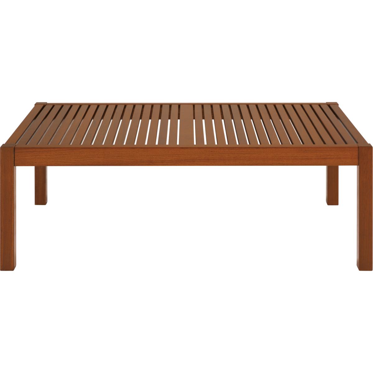 Tramontina Big Coffee Table With Jatob Wood And Eco