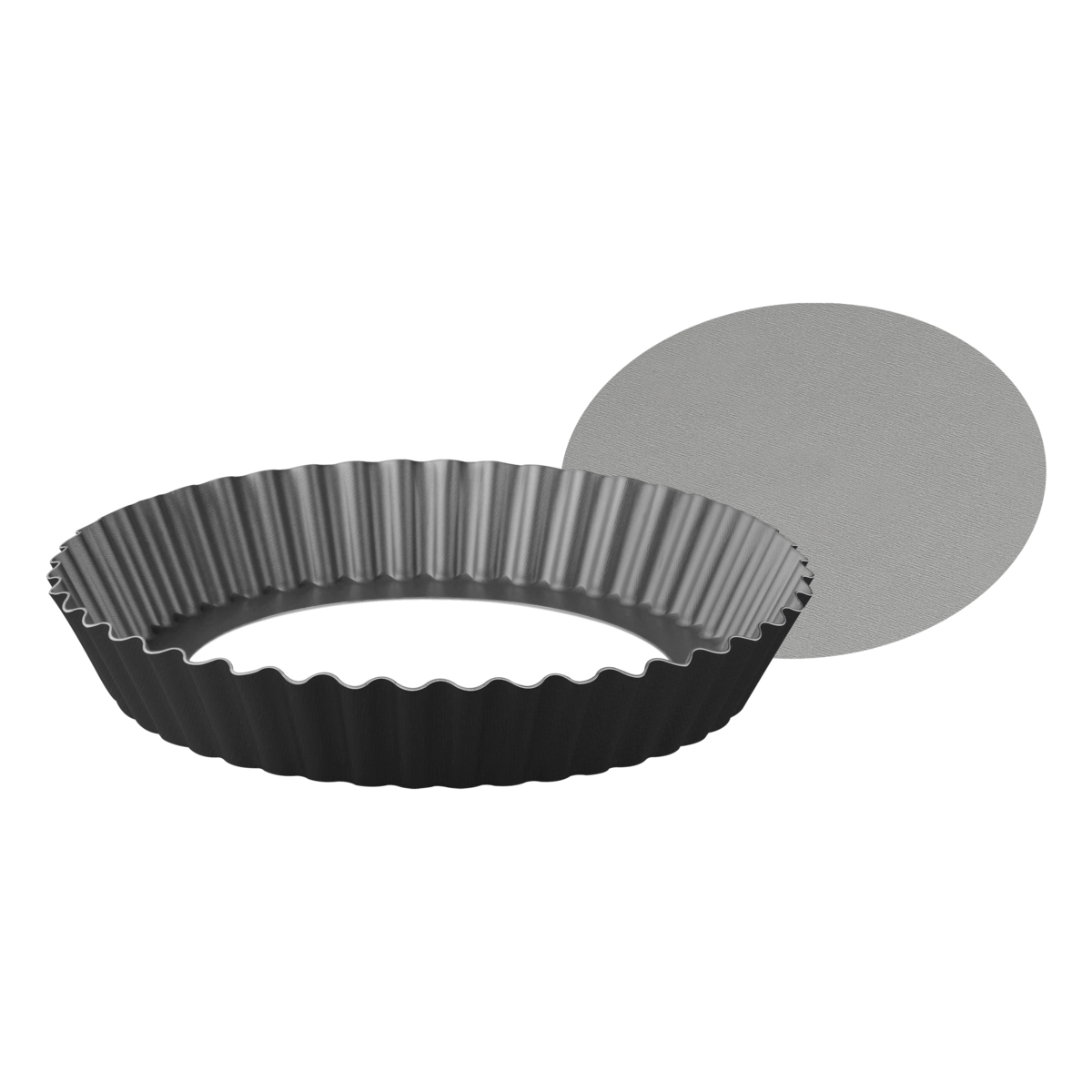 Tramontina Aluminum Cake Pan With Removable Bottom Interior