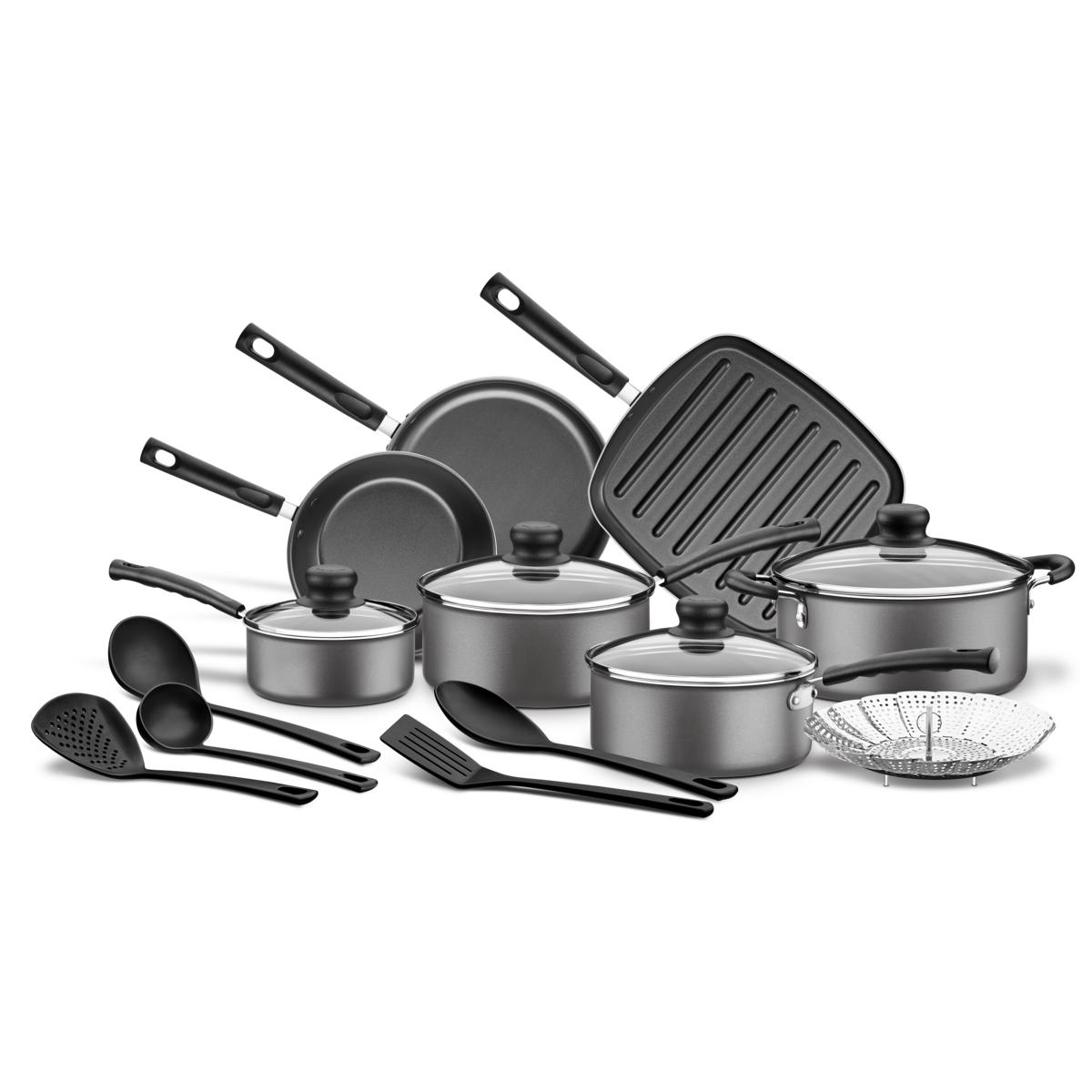 Tramontina - Batería de cocina de aluminio con revestimiento interno ...
