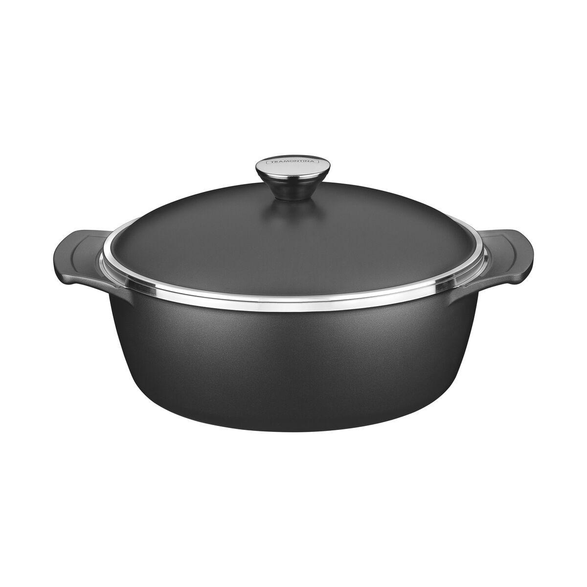 Aluminum with internal nonstick coating casserole Ø26cm