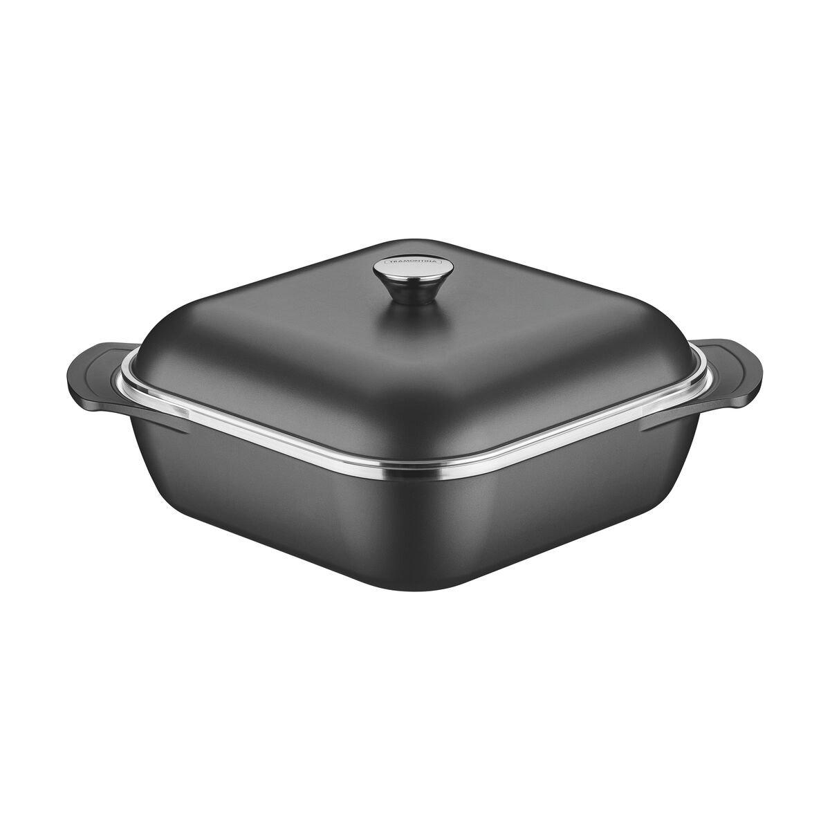 Aluminum with internal nonstick coating casserole 28cm
