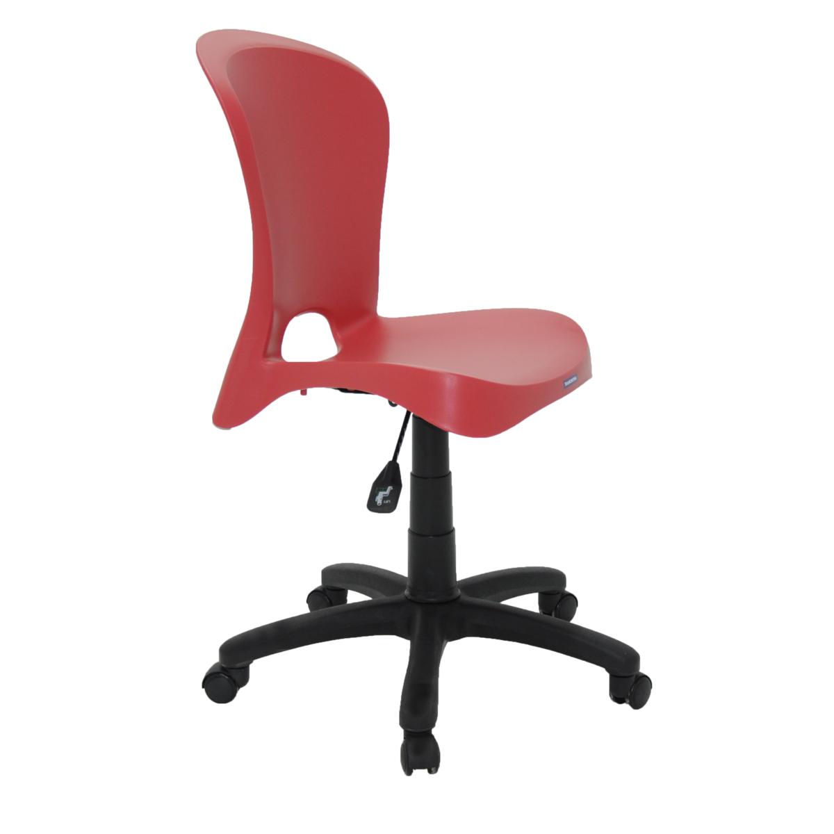 808177de0 Cadeira Tramontina Jolie Vermelha sem Braços em Polipropileno com Rodízio |  Tramontina
