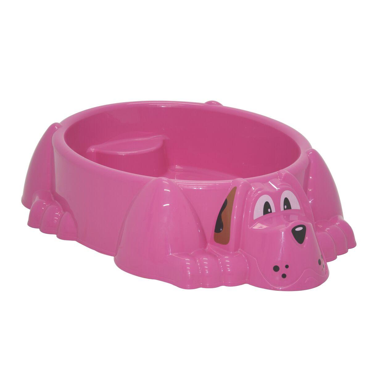 Tramontina Aquadog Pink Paddling Pool with Seat
