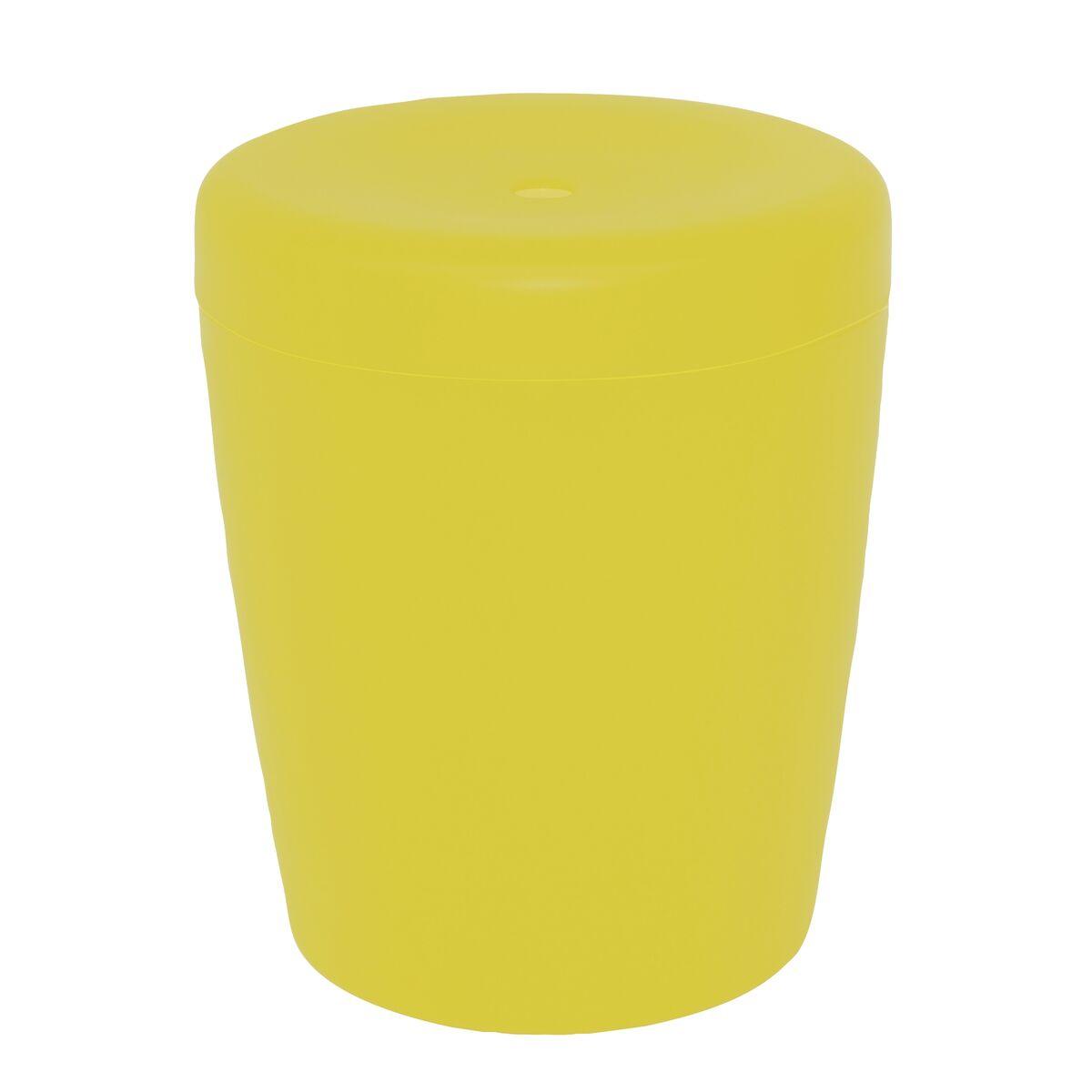 Yellow Pouffe