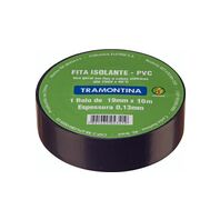 Tramontina black electrical tape 10 m 0.13x19 mm