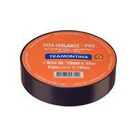 Tramontina black electrical tape 10 m 0.18x19 mm