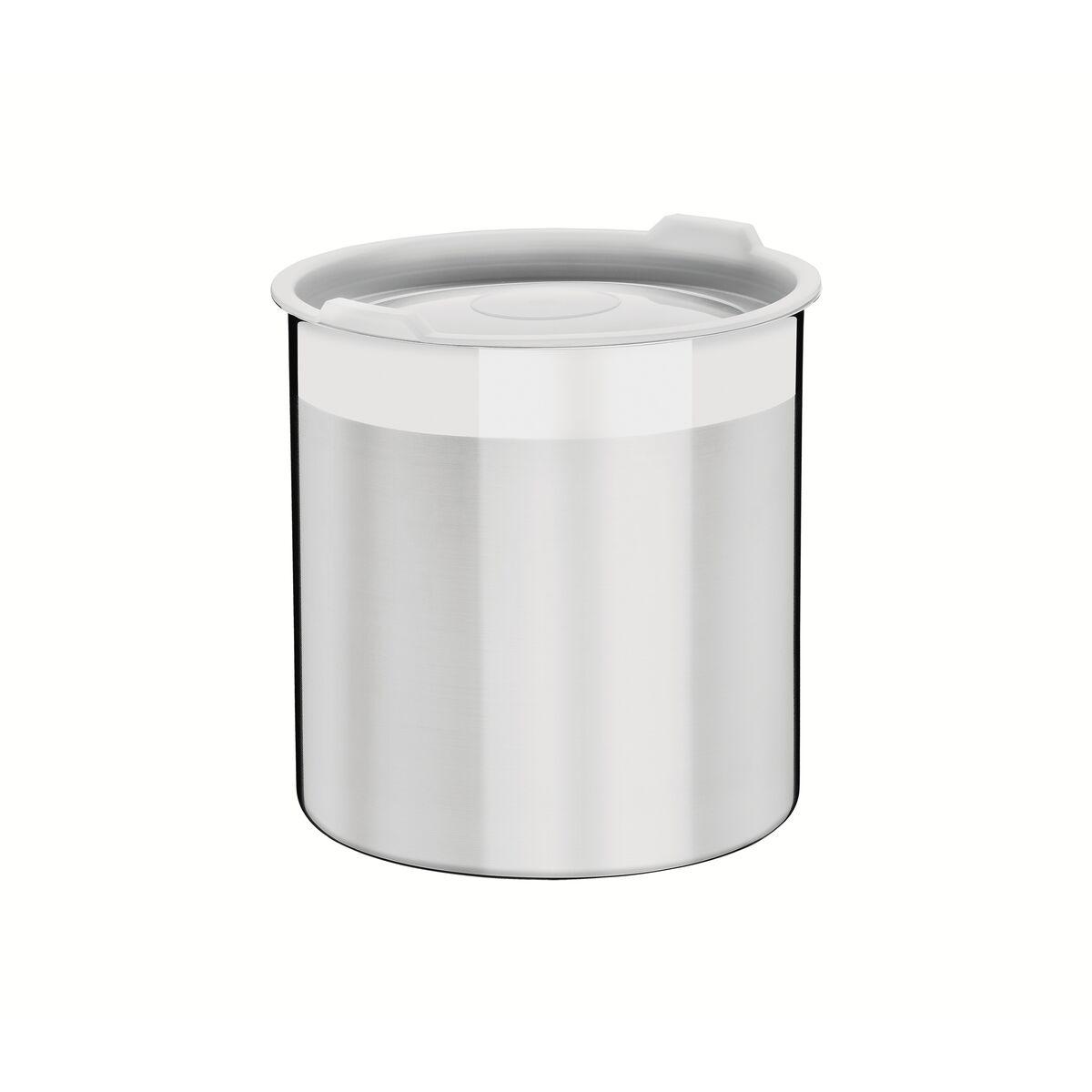 Contenedor Tramontina Cucina de acero inoxidable para víveres con tapa plástica 14 cm 2,3 L