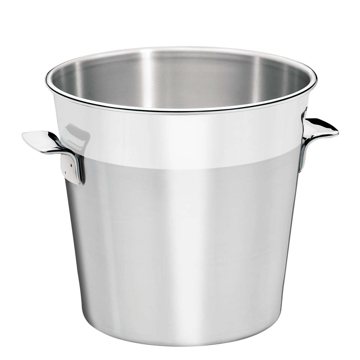 Tramontina Cosmos Matte Stainless Steel Ice Bucket With Shiny Rim 14 Cm And 1 8 L Tramontina