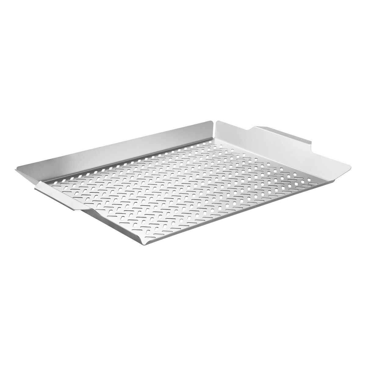 Tramontina Cosmos stainless steel fish grilling basket, 48 x 32 cm