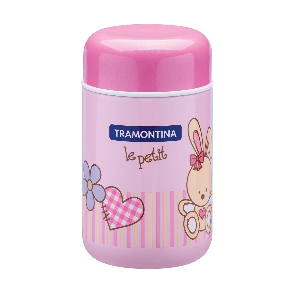 Termo Tramontina Le Petit rosa para alimentos 400 ml