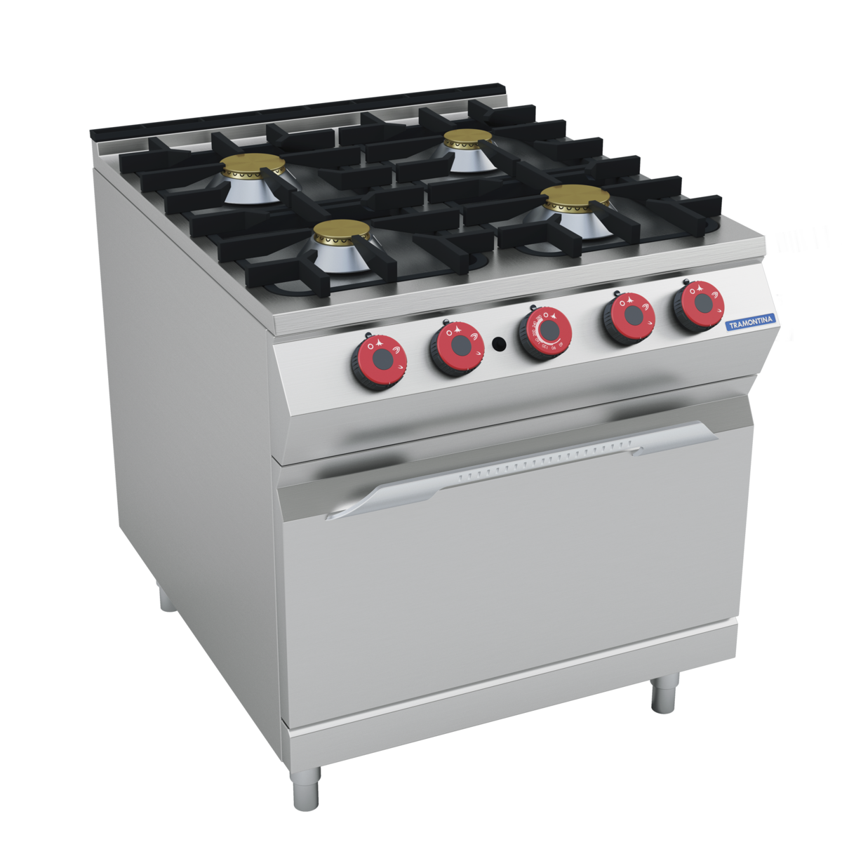Gas Range With Gas Oven Tramontina 4 Burner Gas Range On Gas Oven
