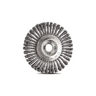 4.1/2''x1/4'' knotted wire wheel brush