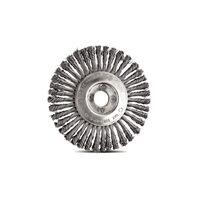 Cepillo circular alambre trenzado 4.1/2''x1/4''