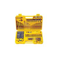 110 pieces drills and tips case