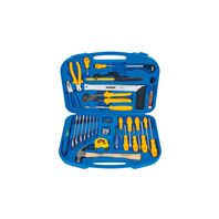 Tramontina tool kit with organizer box, 30 pieces