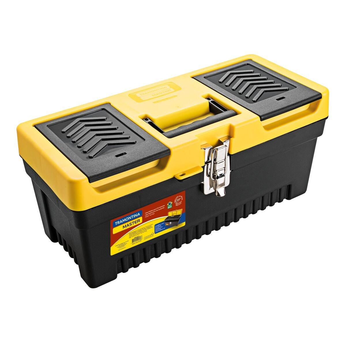 17'' Plastic tool box