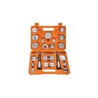 Kit de ferramentas para retornar êmbolos da pinça de freio - 22 peças
