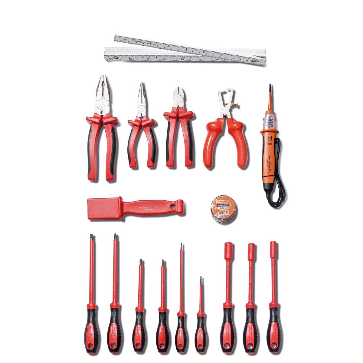 Tramontina - Bolsa con herramientas IEC 18 piezas 2ba827038e89