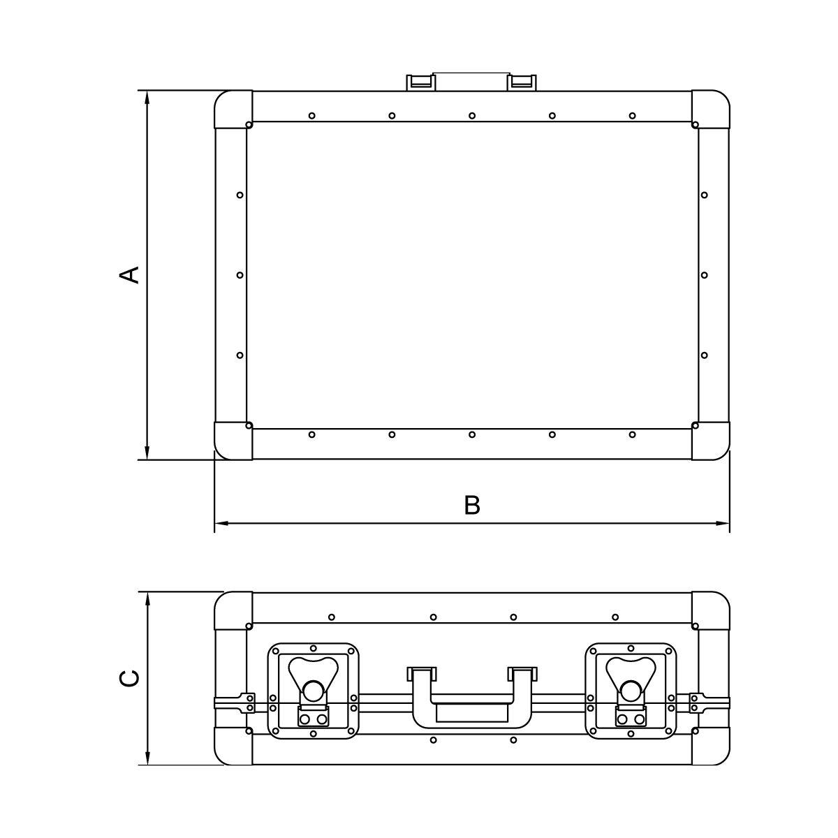 Tramontina - Maletín porta herramientas IEC 86161f1e54bb