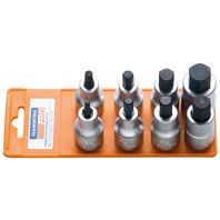 "1/2"" Hexagonal Tip Socket Set - 8 pieces"