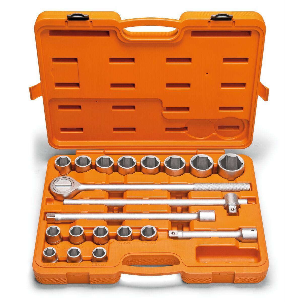 Tramontina malet n con dados hexagonales y accesorios 3 - Maletines con herramientas ...