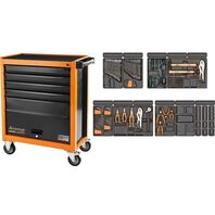 115 pieces 5 drawers and 1 door tool cabinet