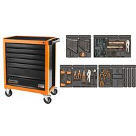 115 pieces 7 drawers tool cabinet