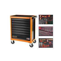 115 pieces 8 drawers tool cabinet