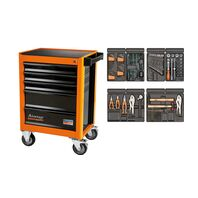 92 pieces 5 drawers tool cabinet