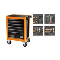 92 Pieces 6 Drawers Tool Cabinet