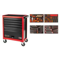 95 pieces 5 drawers and 1 door tool cabinet